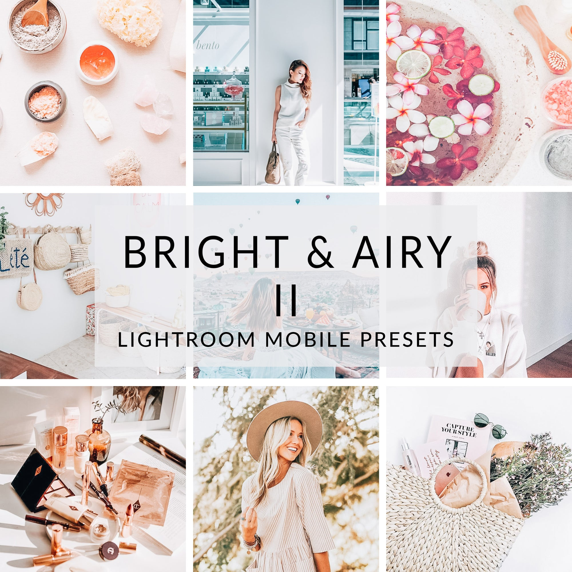 Bright & Airy II Lightroom Mobile Presets