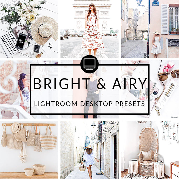 Bright & Airy Lightroom Desktop Presets