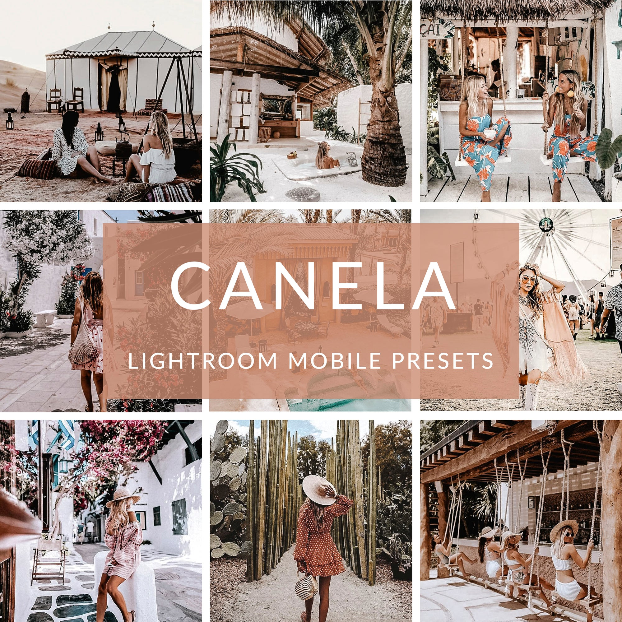 Canela Lightroom Mobile Presets