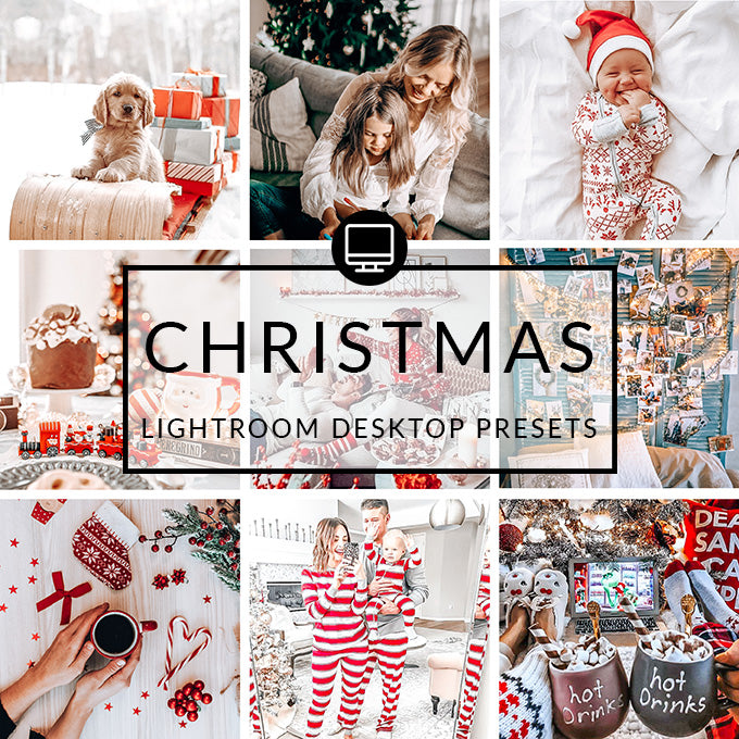 Christmas Lightroom Desktop Presets