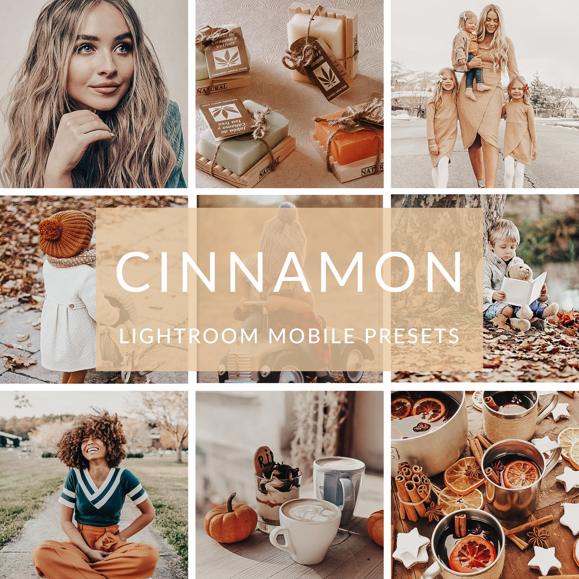 Cinnamon Lightroom Mobile Presets