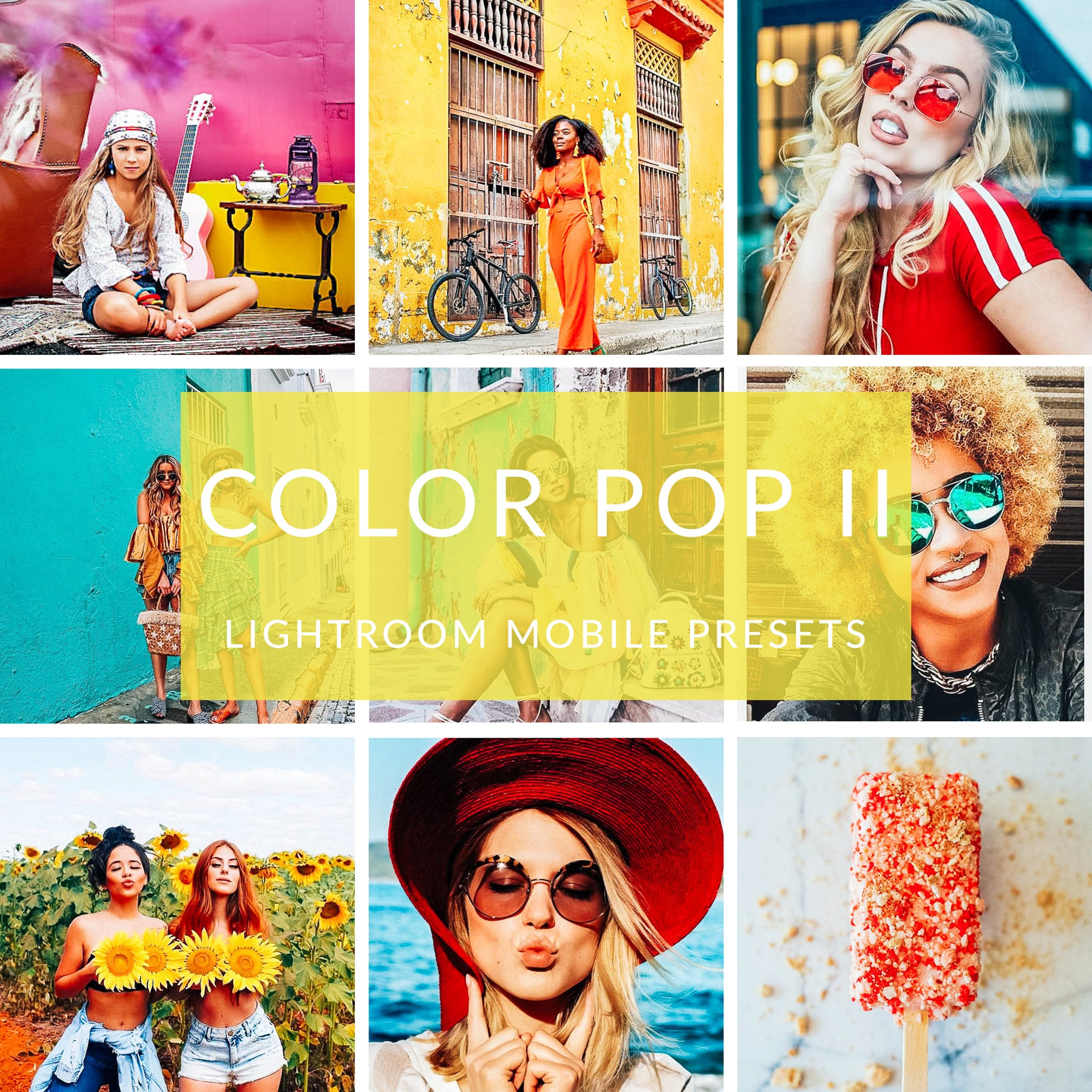 Color Pop Lightroom Mobile Presets