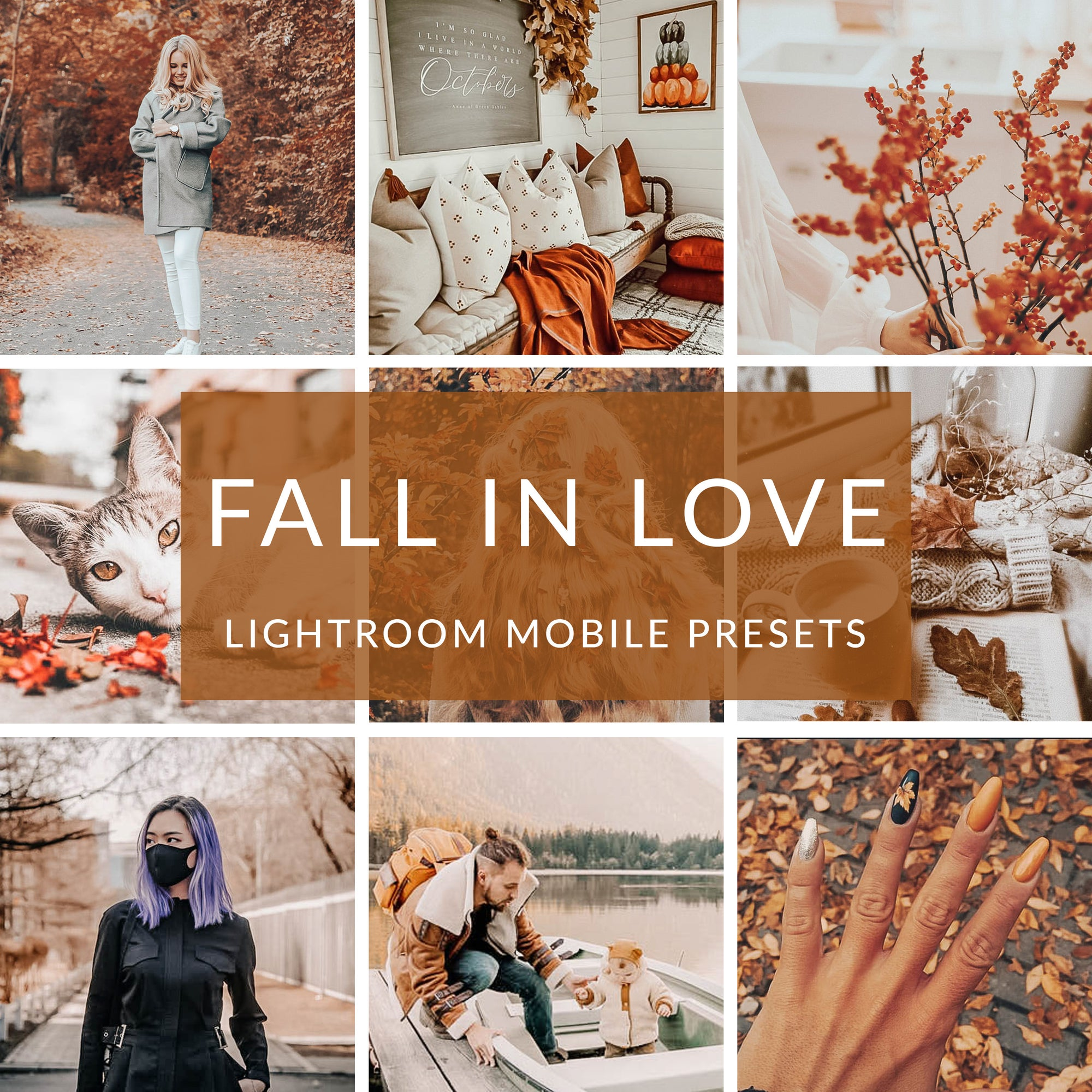 Fall In Love Lightroom Mobile Presets