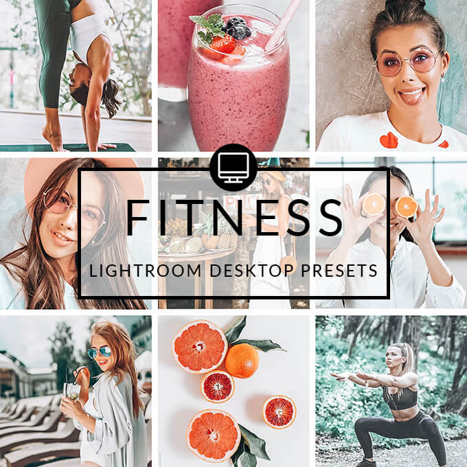 Fitness Lightroom Desktop Presets
