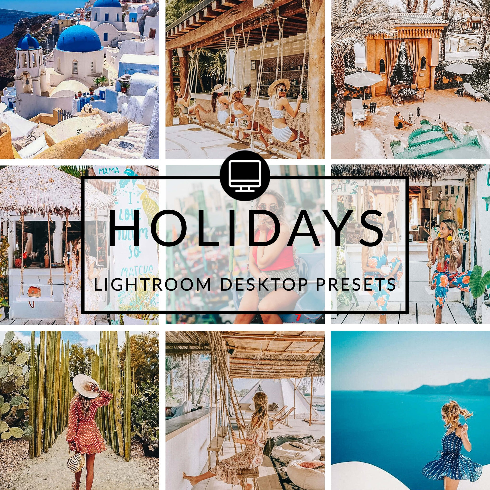 Holidays Lightroom Desktop Presets
