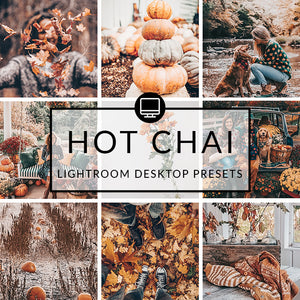 Hot Chai Lightroom Desktop Presets