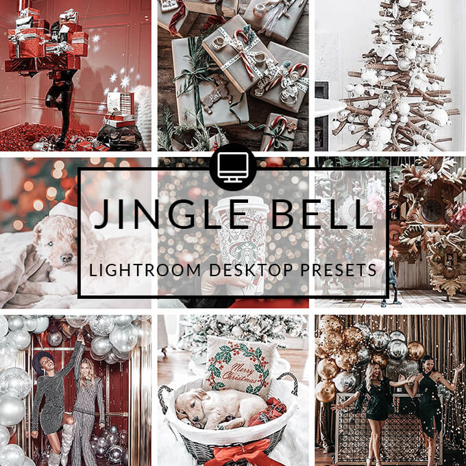 Jingle Bell Lightroom Desktop Presets