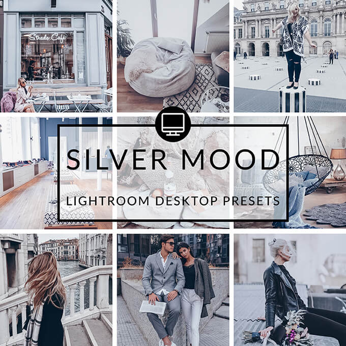 Silver Mood Lightroom Desktop Presets
