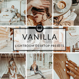 Vanilla Lightroom Desktop Presets