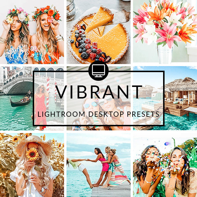 Vibrant Lightroom Desktop Presets
