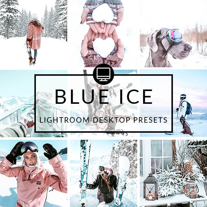 Blue Ice Lightroom Desktop Presets