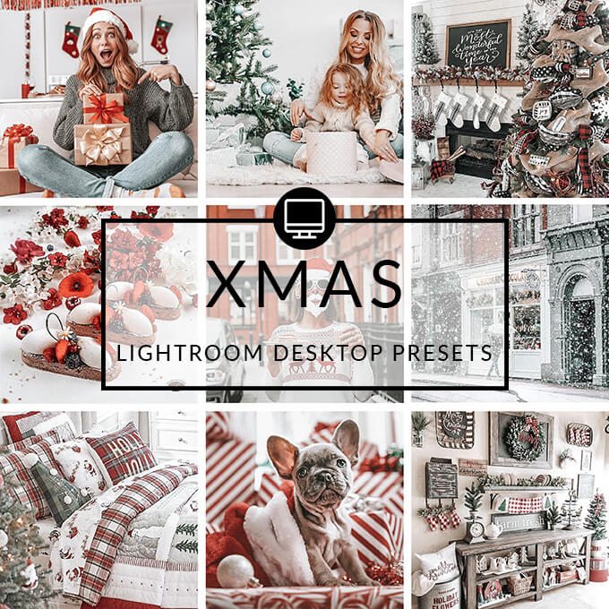 Xmas Lightroom Desktop Presets