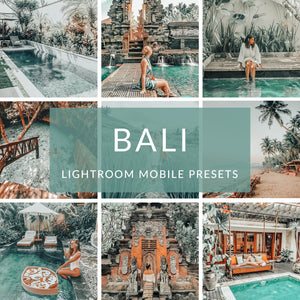 Bali Lightroom Mobile Presets