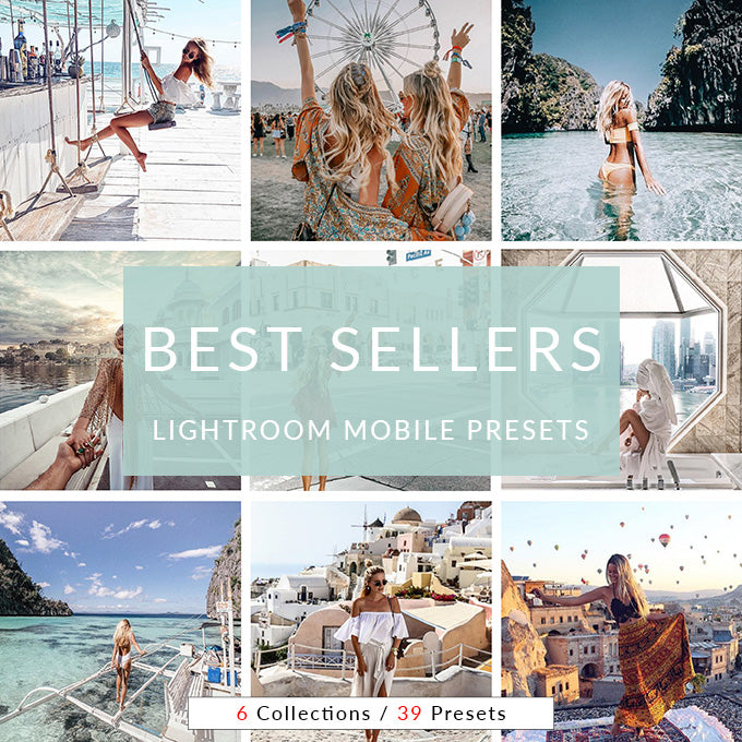 Best Sellers Lightroom Mobile Presets