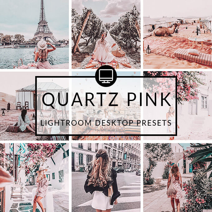 Quartz Pink Lightroom Desktop Presets