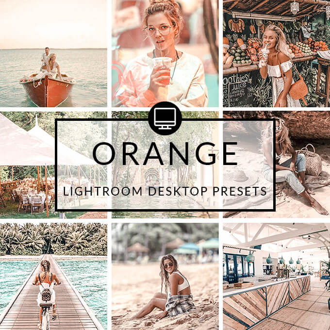 Orange Lightroom Desktop Presets