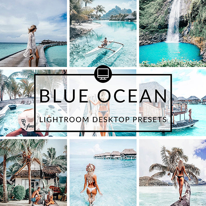 Blue Ocean Lightroom Preset