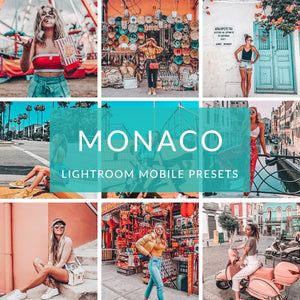 Monaco Lightroom Mobile Presets