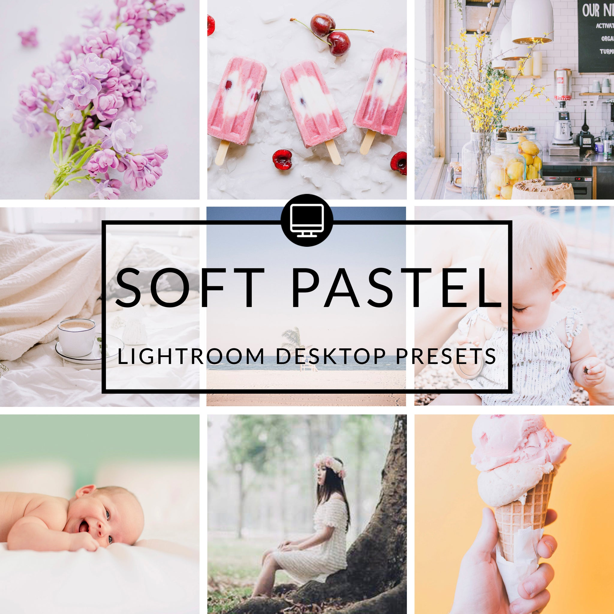 Soft Pastel Lightroom Desktop Presets