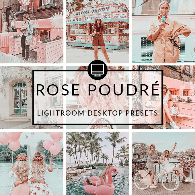 Rose Poudré Lightroom Desktop Presets