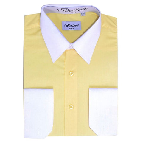 Two-Tone Dress Shirt | N°510 | Lemon