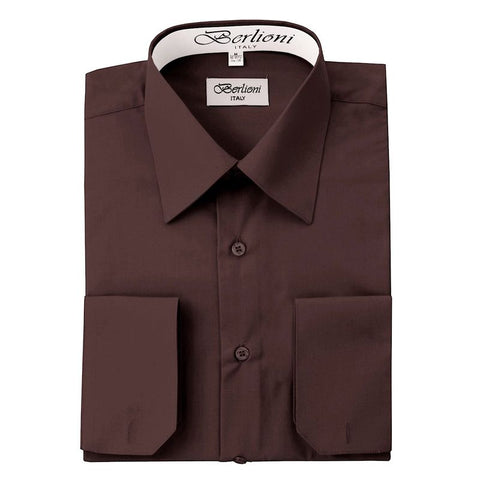 French Convertible Shirt | N°221 | Brown