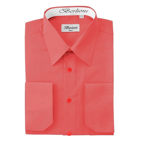 French Convertible Shirt | N°231 | Coral