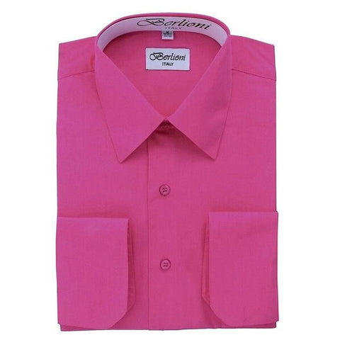 French Convertible Shirt | N°217 | Fuchsia
