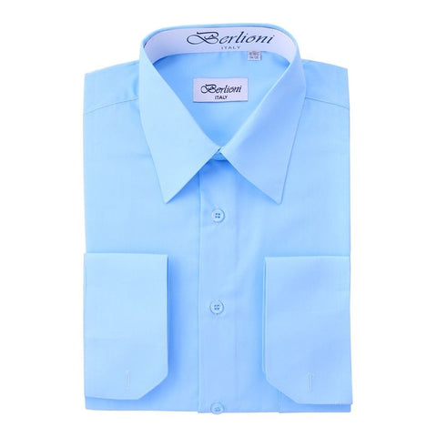 French Convertible Shirt | N°204 | Light Blue