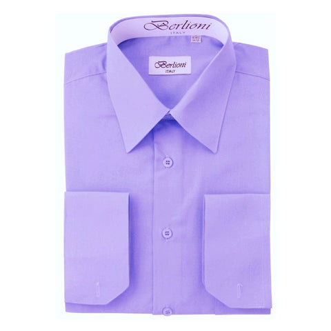 French Convertible Shirt | N°211 | Lilac