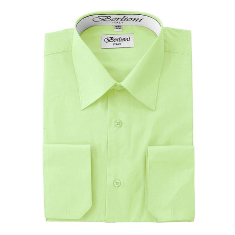 French Convertible Shirt | N°226 | Lime