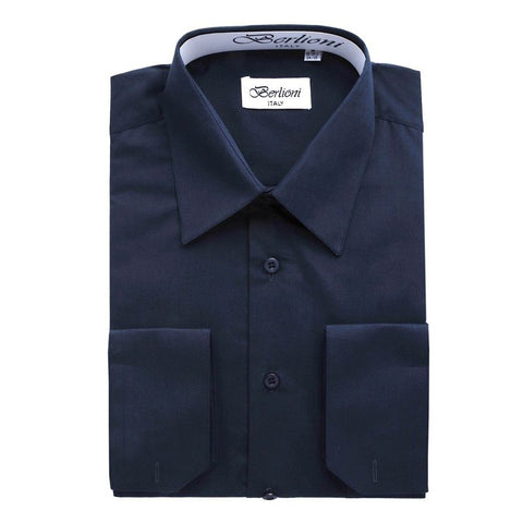 French Convertible Shirt | N°224 | Navy