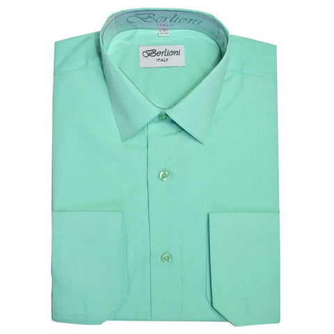 French Convertible Shirt | N°236 | New Aqua