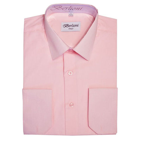 French Convertible Shirt | N°237 | New Pink