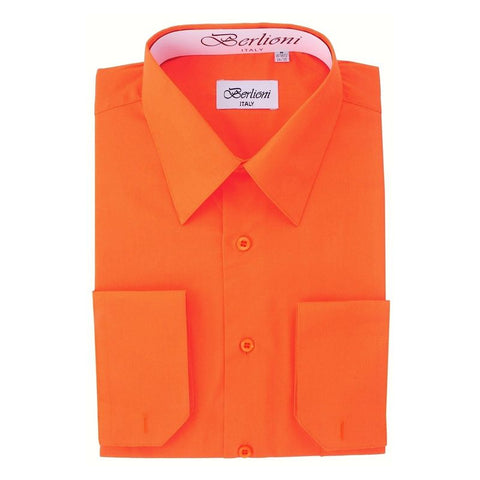 French Convertible Shirt | N°206 | Orange