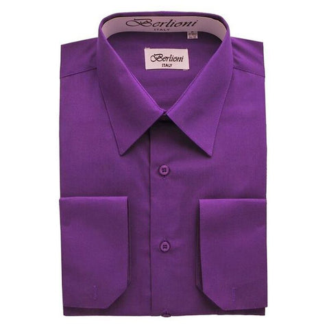 French Convertible Shirt | N°223 | Purple