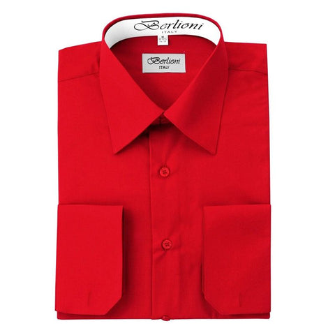 French Convertible Shirt | N°208 | Red