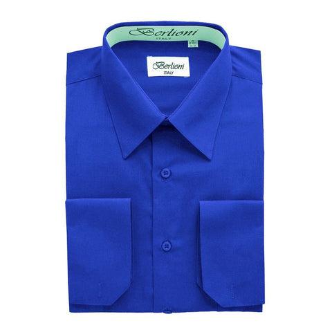 French Convertible Shirt | N°233 | Royal Blue