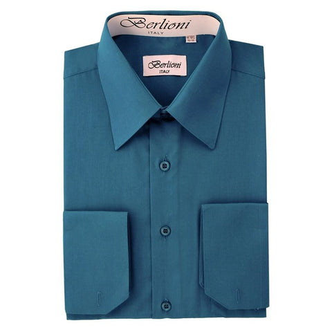 French Convertible Shirt | N°227 | Teal