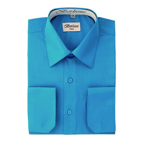 French Convertible Shirt | N°207 | Turquoise