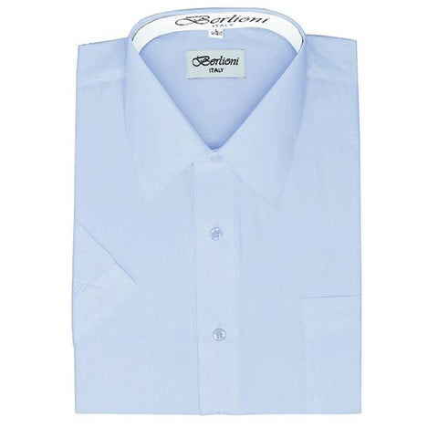 Short Sleeve Shirt | N°104 | Light Blue
