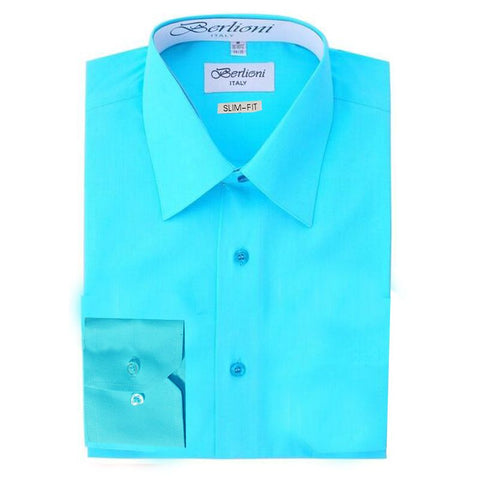 Slim-Fit Shirt | N°334 | Aqua