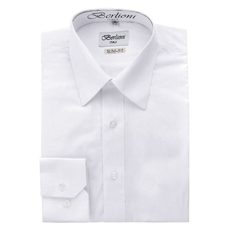 Slim-Fit Shirt | N°301 | White