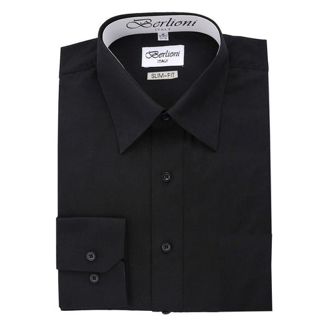 Slim-Fit Shirt | N°320 | Black