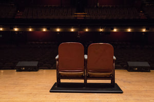Massey Hall Auditorium Seats (Set of 2)