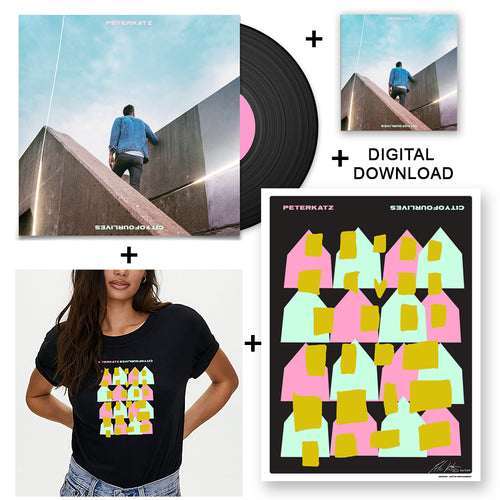 Everything Bundle - CD + Vinyl + Limited Lithograph + Digital Download + T-Shirt