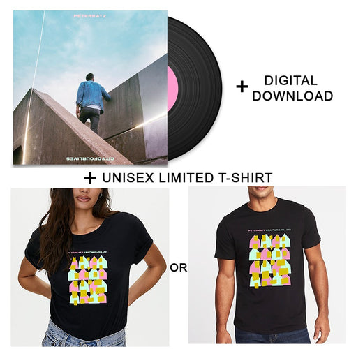 Vinyl + Digital Download + Limited T-shirt