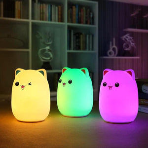 Veilleuse Lumineuse Chat