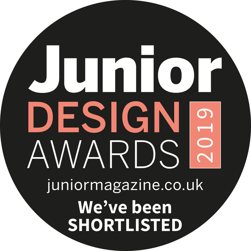 Shortlisted for Best Children's Nightwear Brand in the Junior Design Awards 2019