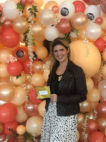 Helen with award